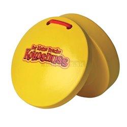 Der kleine Drache Kokosnuss Percussion Kastaněty - pár Kastaněty - žlutá barva Yellow