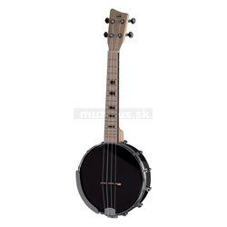 GEWA Banjo Ukulele Manoa B-CO-A Banjo-Ukulele Concert Černá