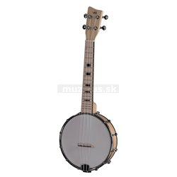 GEWA Banjo Ukulele Manoa B-CO-M Banjo Ukulele Concert Javor - matné provedení