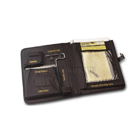 Warwick Masterbuilt Streamer LX, 4-String - Nirvana Black Transparent Satin, Gold Hardware