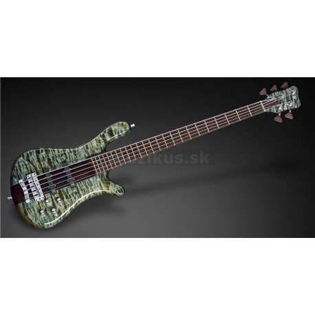 Warwick Custom Shop Streamer Stage I, 5-String - Tropical Green Transparent High Polish - 17-3405