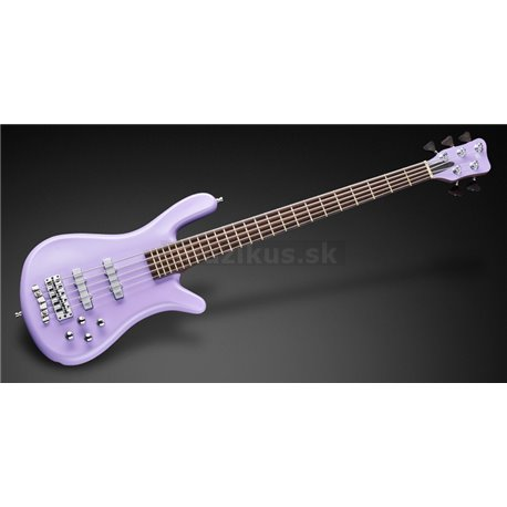 Warwick Custom Shop Streamer LX, 5-String - Solid Purple Satin - 19-4012 - Show Room Model