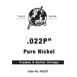 Framus Blue Label - Electric Guitar Single String, .022, plain