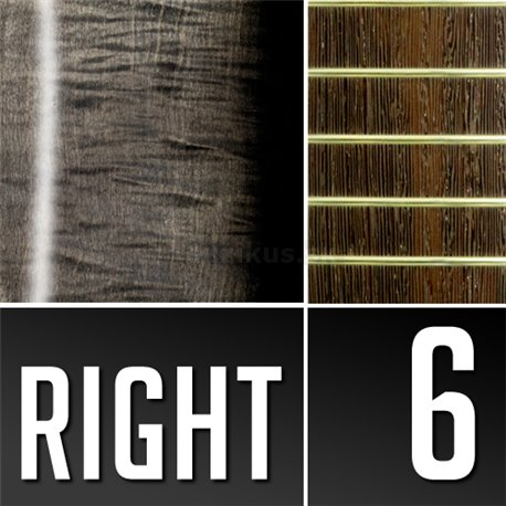 Warwick Masterbuilt Streamer LX, 6-String - Nirvana Black Transparent Satin