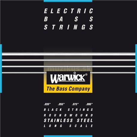 Warwick Black Label - Bass String, 4-String, Light, .035-.095