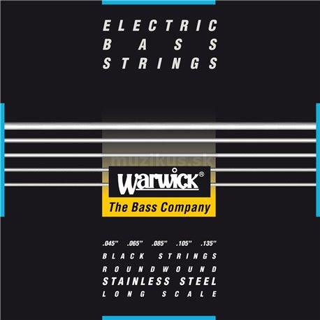 Warwick Black Label - Bass String, 5-String, Medium, .045-.135
