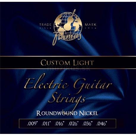 Framus Blue Label - Electric Guitar String Set, Custom Light, .009-.046
