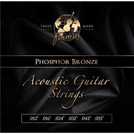 Framus Phosphor Bronze - Acoustic Guitar String Set, Medium, .012-.053