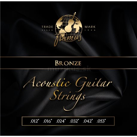 Framus Bronze - Acoustic Guitar String Set, Medium, .012-.053