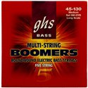 GHS Bass Boomers - Bass String Set, 5-String, Medium, .045-.130
