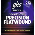 GHS Precison Flatwound - 900 - Electric Guitar String Set, Ultra Light, .012-.050
