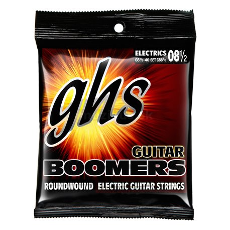 GHS Guitar Boomers - GB8 1/2 - Electric Guitar String Set, Ultra Light Plus, .0085-.040
