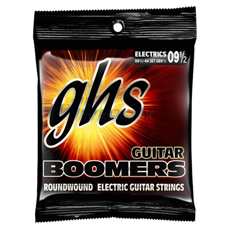 GHS Guitar Boomers - GB9 1/2 - Electric Guitar String Set, Extra Light Plus, .0095-.044