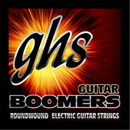 GHS Guitar Boomers, Guitar Single String, .0115, plain