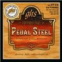 GHS Pedal Steel Super Steels - Pedal Steel Guitar String Set, 10-Strings, C6 Tuning, .015-.070