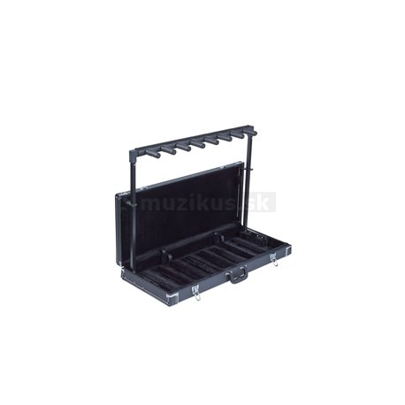 RockStand - Multiple Guitar Rack Stand in Hardshell Case - for 7 Electric Guitars / Basses