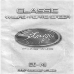 """Stagg CLN-E6W, struna """"E"""", normálne pnutie"""