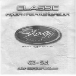 """Stagg CLH-G3N, struna """"G"""", vysoké pnutie"""