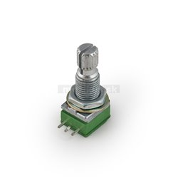 MEC Mono Mini Potentiometer, A250K, Split Shaft