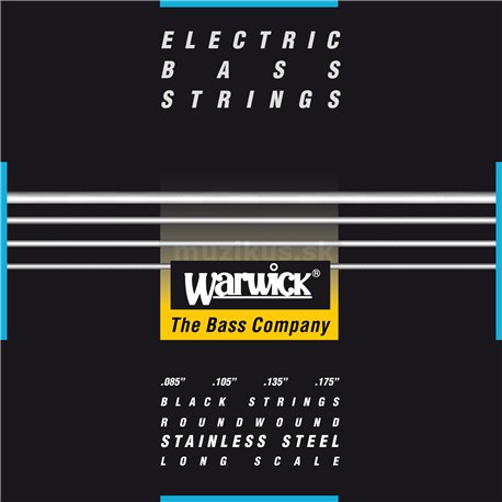 Warwick Black Label - Bass String, 4-String, Dark Lord, .085-.175