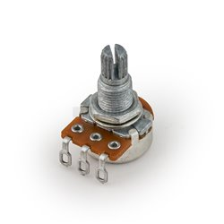 MEC Mono Potentiometer, C500K, Split Shaft