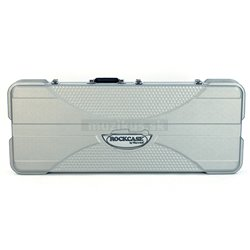RockCase - Premium Line - Electric Guitar ABS Case, rectangular - Silver