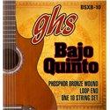 GHS Bajo Quinto, Acoustic Guitar String Set, Loop End 10 String, .024-.078