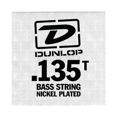 Dunlop Bass Nickel Wound - Bass Single String, .135, Taperwound