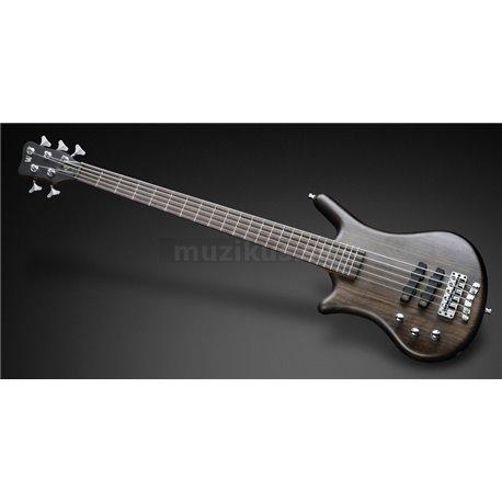 Warwick Teambuilt Pro Series Thumb BO, Lefthand 5-String - Nirvana Black Transparent Satin