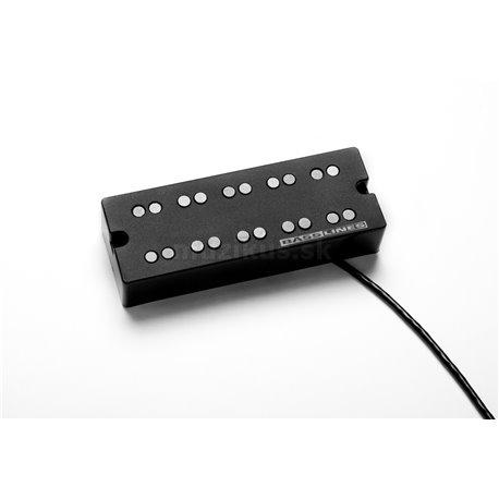 Seymour Duncan SSB-5NYC-N - NYC Bass, 5-String, Passive Dual Coil Neck Pickup, Phase II/EMG Size - Black