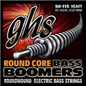 GHS Round Core Bass Boomers - RC-H3045 - Bass String Set, 4-String, Heavy, .050-.115