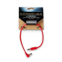 RockBoard Flat Polarity Reverser Cable, 30 cm / 11 13/16, angled/straight