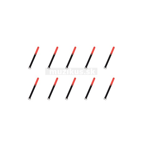 RockBoard Cable Ties, 10 pcs., Extra Small - Red