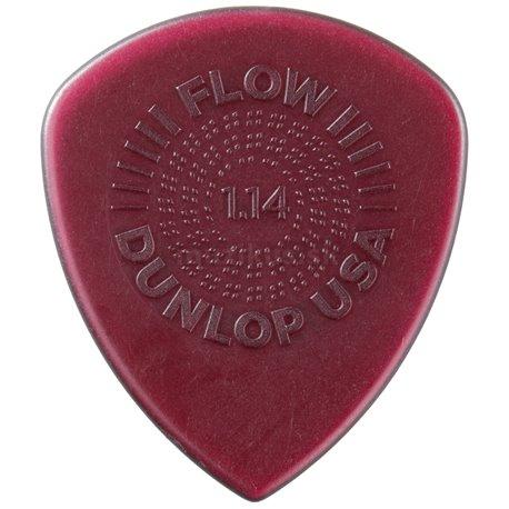 Dunlop Flow Standard Picks with Grip, Refill Pack, 24 pcs., red, 1.14 mm