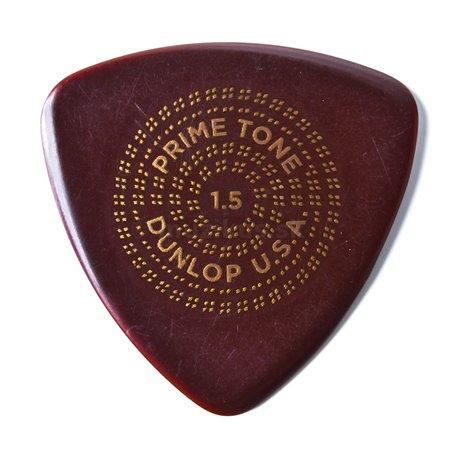Dunlop Primetone Triangle Picks, smooth, Refill Pack, 12 pcs., dark brown, 1.50 mm