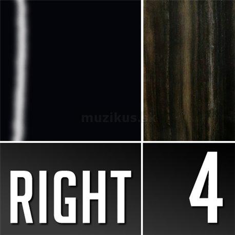 Warwick Teambuilt Pro Series Streamer Stage I, 4-String, Fretless - Solid Black High Polish