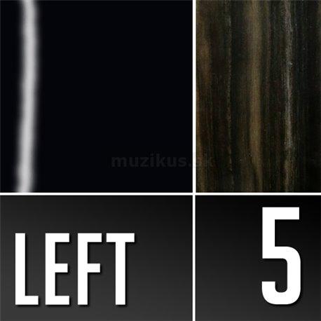 Warwick Teambuilt Pro Series Star Bass, Lefthand, 5-String, Fretless - Solid Black High Polish