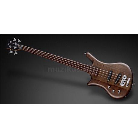Warwick Teambuilt Pro Series Thumb BO, Lefthand, 4-String - Nirvana Black Transparent Satin