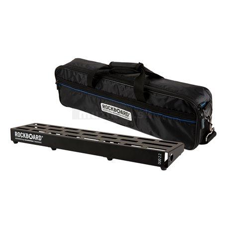 RockBoard DUO 2.2, Pedalboard with Gig Bag
