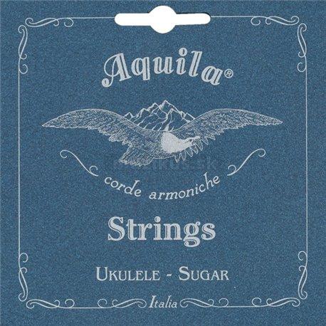 Aquila 156U - Sugar, Ukulele String Set, Baritone (DGBE), Low-D Tuning (2 wound strings - D&G)