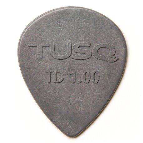 TUSQ Tear Drop Picks 1.00 mm, 6 pcs, Grey