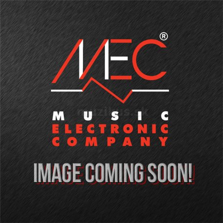 MEC Metal Cover MM-Style Bass Pickup, 6-String, Neck - Brushed Black Chrome