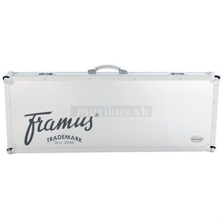 Framus - Professional Line - Double-Neck Electric Guitar Flight Case - Silver