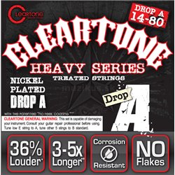 Cleartone Monster Heavy Series Nickel-Plated EMP, Electric Guitar String Set, Drop A, .014-.080