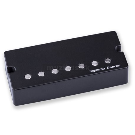 Seymour Duncan Jeff Loomis Neck Humbucker, 7-String, Active Mount - Black