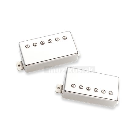 Seymour Duncan SH-55n - Seth Lover Humbucker Set, 2 Cond. Cable - Nickel Cover