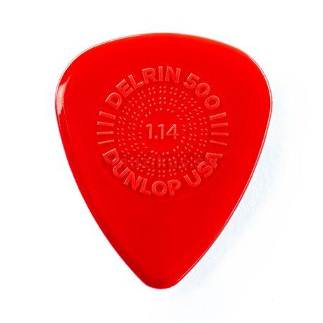 Dunlop Prime Grip Delrin 500 Picks, Refill Pack, 72 pcs., red, 1.14 mm