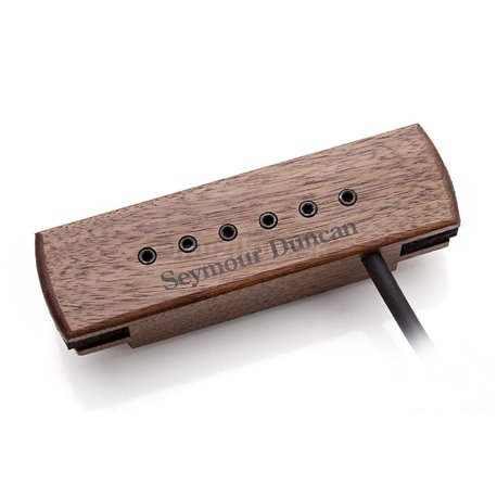 Seymour Duncan Woody XL Hum Cancelling, with adjustable Pole Pieces - Walnut