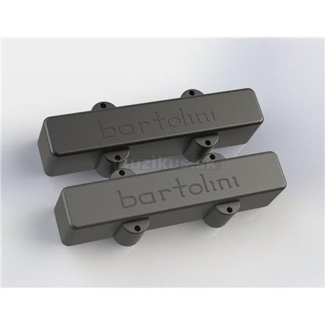 Bartolini 59J1 L/LN - Jazz Bass Pickup, Dual In-Line Coil, 5-String, Set