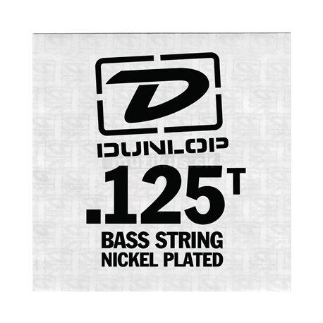 Dunlop Bass Nickel Wound - Bass Single String, .125, Taperwound